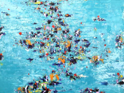 'Swimming Out' by Christian McLeod at Gallery 133