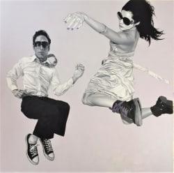 'Downward Climb' by Pedro Bonnin at Gallery 133