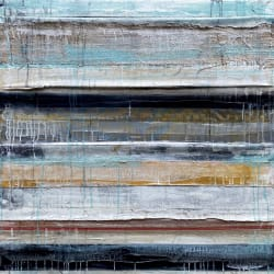 'Rhythm in Blue and Gold' by Nick Young at Gallery 133