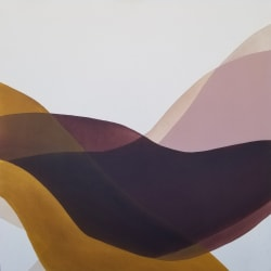 'Dropped Into The Folds' by Lauren Bancroft at Gallery 133