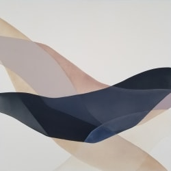 'Night Swimming' by Lauren Mycroft at Gallery 133
