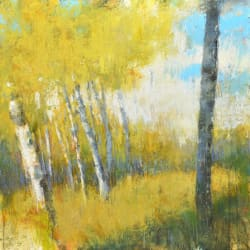 'Aspens' by Laura Culic at Gallery 133