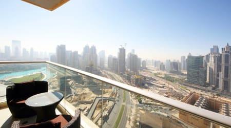Boulevard View Apartment Near Burj Khalifa