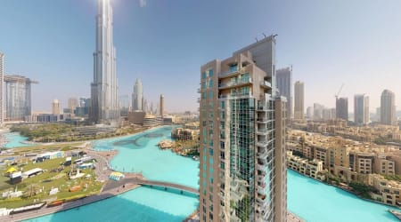 2 BR Dubai Residences Tower Apartment