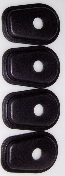 ►2X NEU Adapterplatte LED Miniblinker KAWASAKI GPZ 500,600,ZRX1100,Z1000,GPZ750