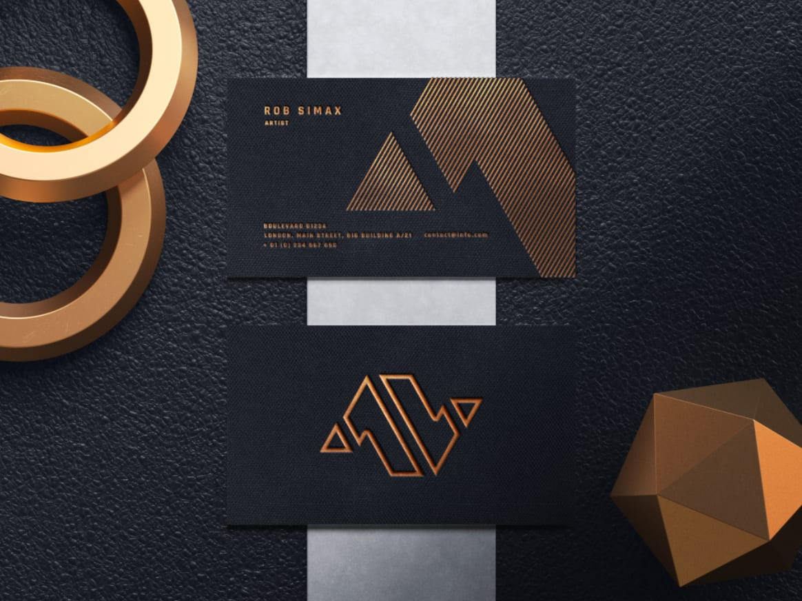 Template Desain Kertu Nama (Bussines Card) Bisa di Edit CDR/AI