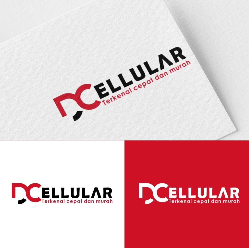 Jasa Desain Logo Konter Hp untuk DC Celluler