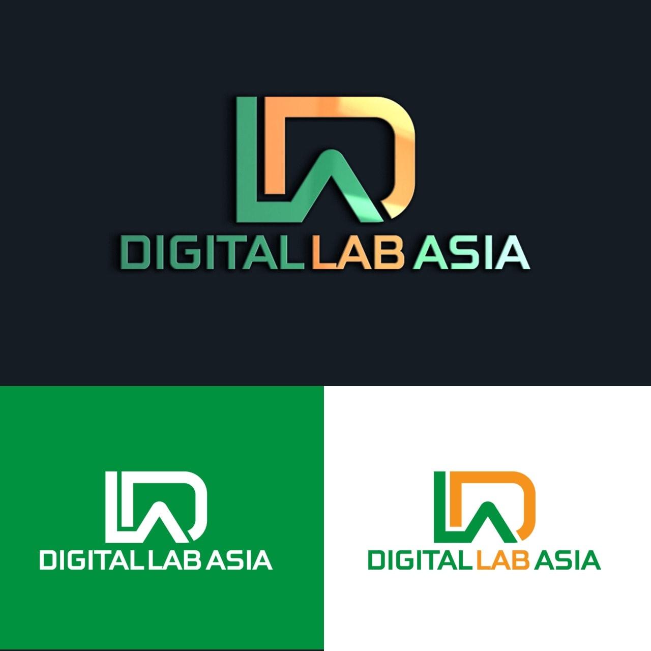 Jasa Desain Logo Digital Lab untuk DLA