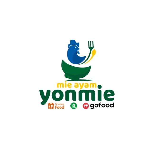Desain Logo Mie Ayam untuk Yonmie