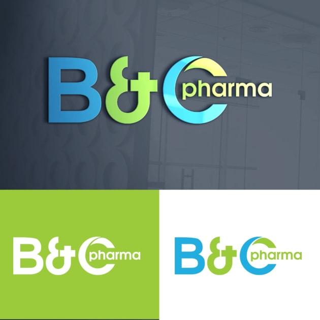 Jasa Desain Logo Apotek untuk B&C