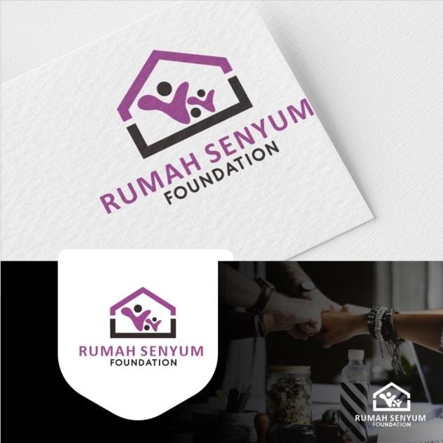 Jasa Desain Logo Komunitas untuk Rumah Senyum