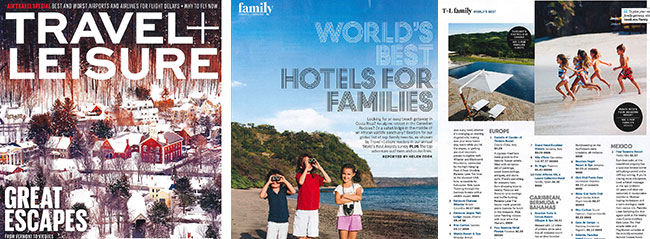 Travel + Leisure World's Best Award Winners