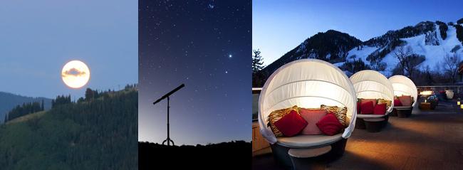 Rooftop Stargazing at Dancing Bear Aspen