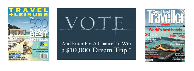 Cast Your Vote in Two Travel Surveys!
