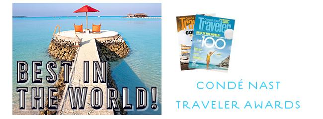 Condé Nast Traveler: Readers' Choice Awards Survey 2013