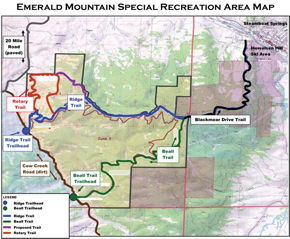 Steamboat Springs Trail Map on
