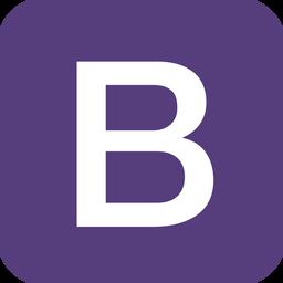 Logotipo framework boostrap