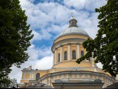 Неделя 14-я по Пятидесятнице в Александро-Невской Лавре