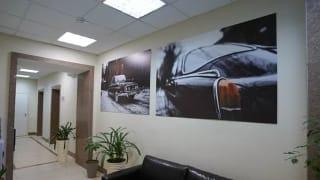Офис с современным дизайном. Новая мебель