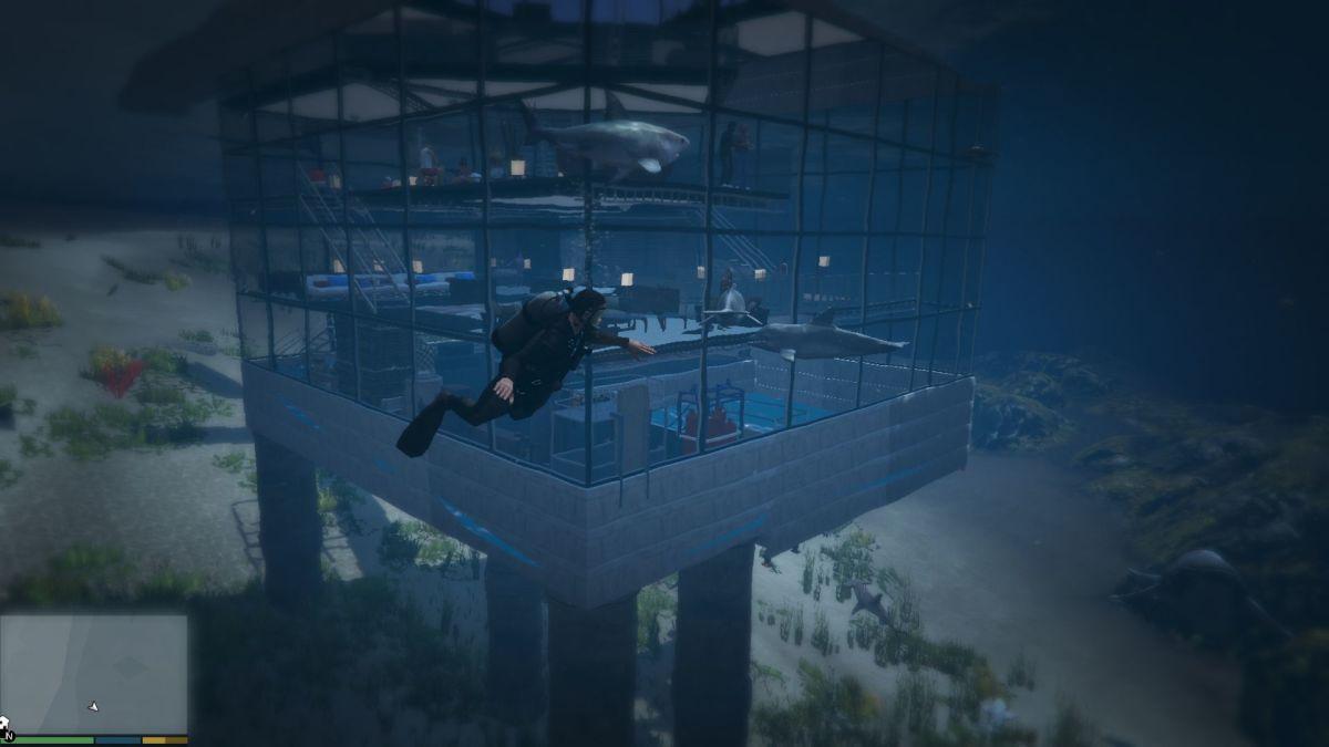 GTA 5 Underwater House 2 | <alebal web Blog>