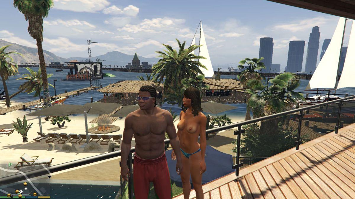 GTA 5 Franklin's Lake Party | <alebal web Blog>