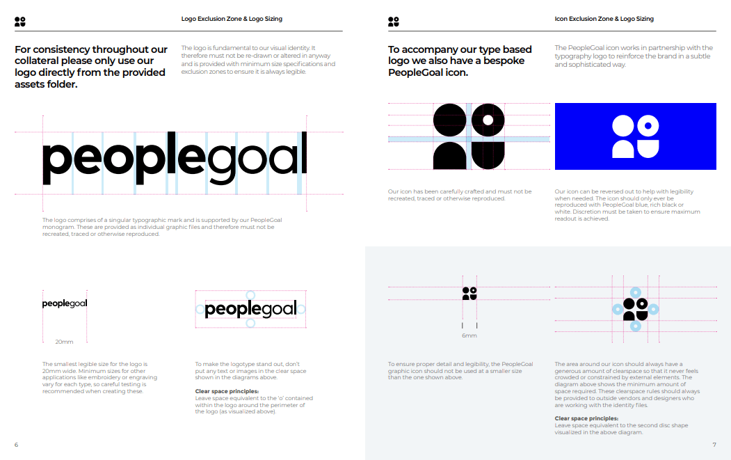 peoplegoal brand guidelines