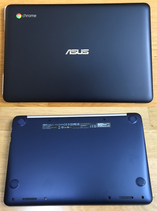 Chromebook表と裏
