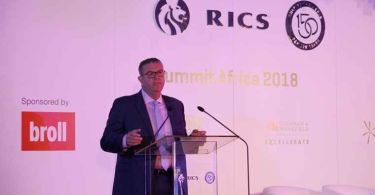RICS Chief Executive Sean Tompkins.