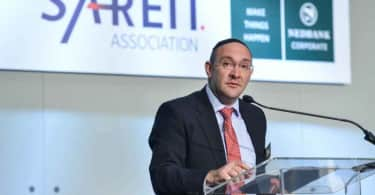 Laurence Rapp, Chairman of the SA REIT Association.