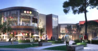 An artist's impression of the Capital Mall development.