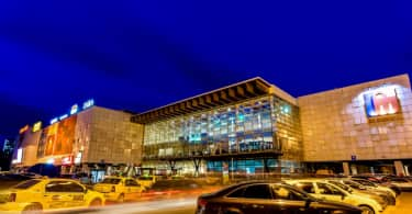An exterior view of IULIUS MALL IASI.