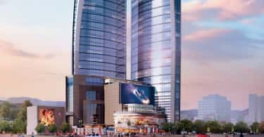 An artist's impression of The Pinnacle in Nairobi, Kenya.