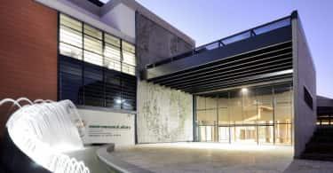 DEA Front Entrance Building