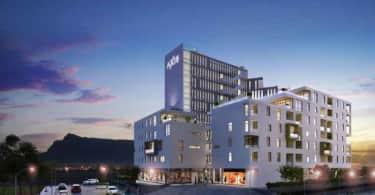 Axis apartments, Rabie, Century City