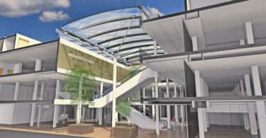 Gustav Voigts shopping centre, Namibia