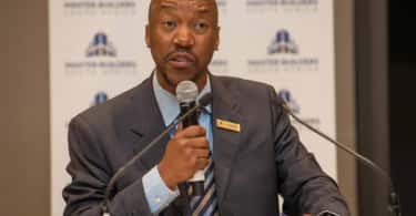 Bonke Simelane, President of Master Builders South Africa.