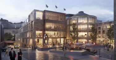 MAS Real Estate's New Waverley office development.