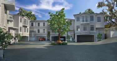 An artist's rendering of 3 Mona Crescent in Newlands, Cape Town.