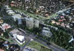 A rendering of Sandton Gate (Boogertman and Partners).
