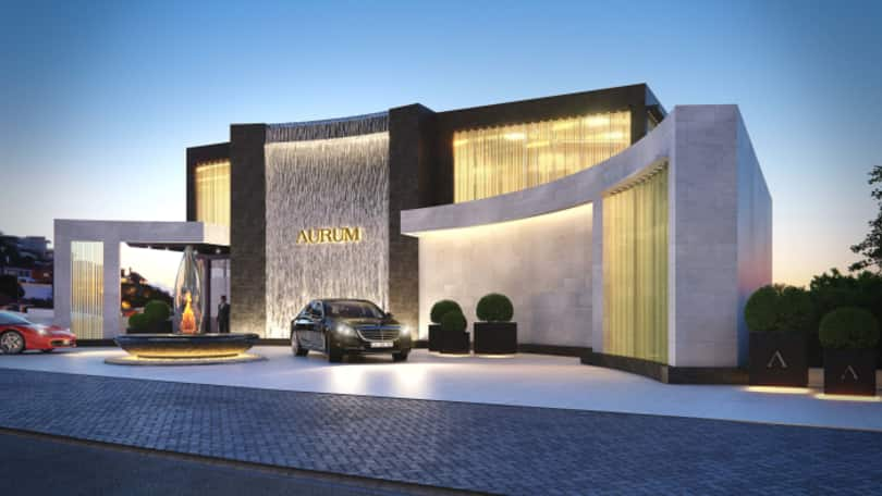 An artist's impression of the luxurious Aurum development on Cape Town's Atlantic Seaboard.
