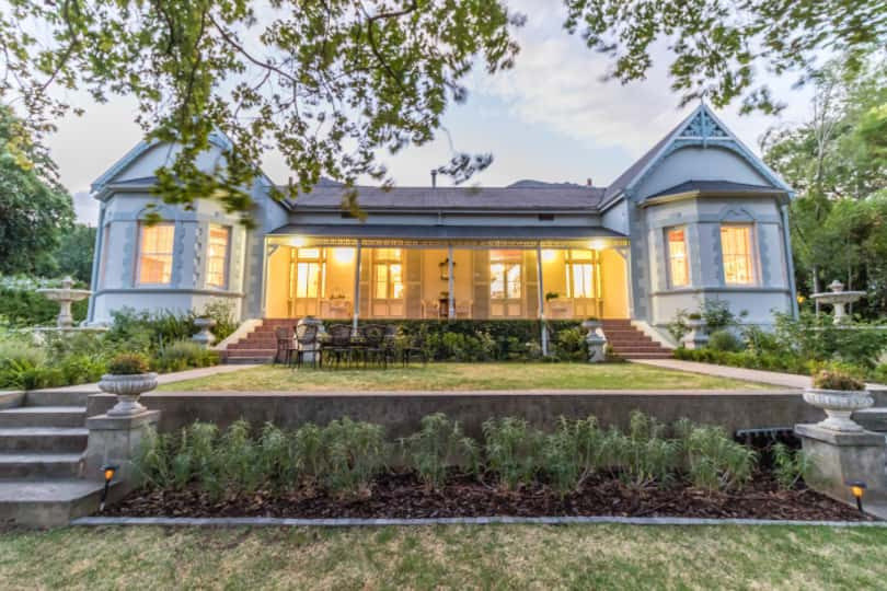 This beautifully refurbished four bedroom, three bathroom hope is ideally positioned between Paarl Girl's High and Boy's High schools. On the market for R5.995 million, features include three fireplaces, a designer kitchen, a braai room, an established garden with a pool and garaging for four vehicles
