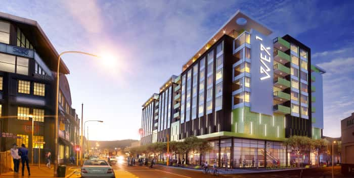 An artist's impression of the view of the WEX Development in Woodstock, CT.