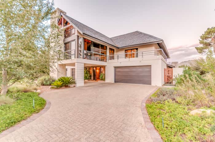 Pearl Valley Golf Course Home, Lew Geffen