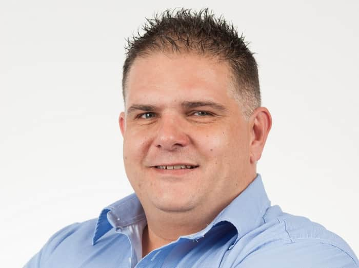 Clinton Janse van Rensburg, General Manager at Heidelberg Mall.