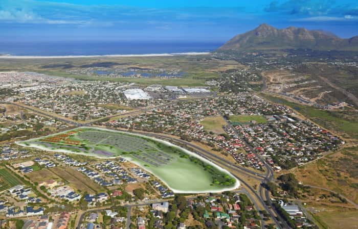 Aerial view, Evergreen Noordhoek