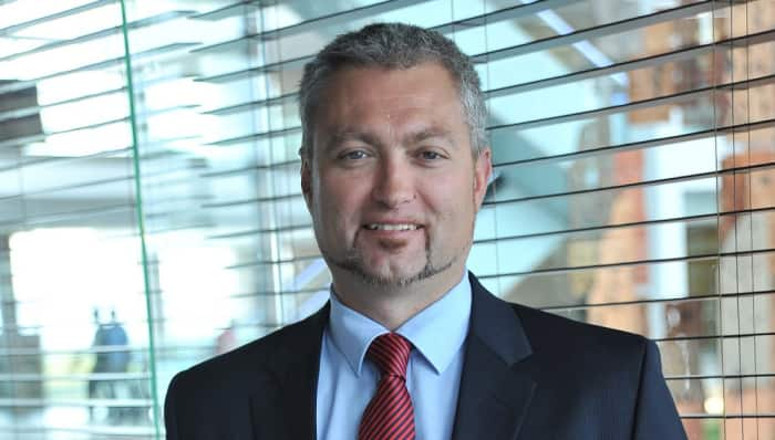 Gerhard Zeelie, Head, Real Estate Finance, Africa regions for Standard Bank.