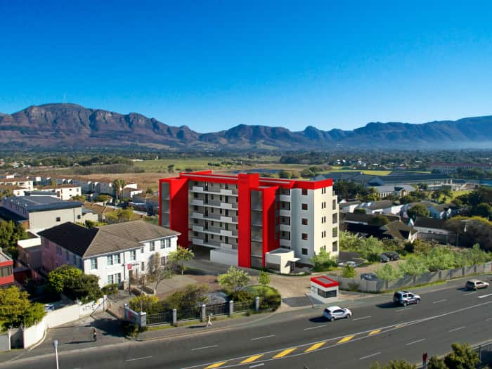 Royale on Main, Asrin Property Developers