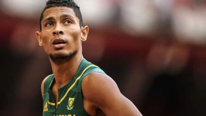 Olympic Gold Medalist Wayde Van Niekerk (Getty Images).