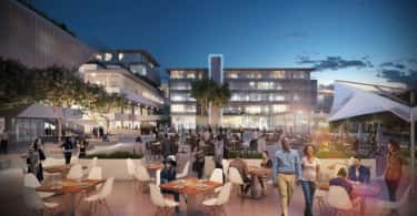 An artist's impression of Nedbank's R1-billion development, Park Square.
