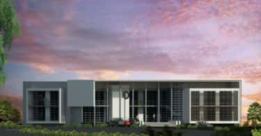 An artist's impression of Willow Wood Office Park i Fourways, Gauteng.